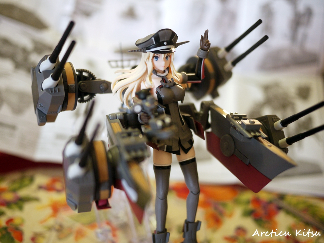 - Might as well just have her be posed in her traditional KanColle self with it being the